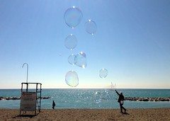 2014 beach bubbles (gordandlee) Tags: beach bubbles thebeach 2014