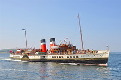 Waverley Approaching Largs, Scotland (Time Out Images) Tags: scotland north ps waverley ayrshire largs ayrshirecoast
