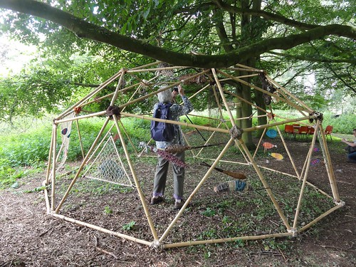 Waveney and Blyth River Art Trail - Installation by The Basketry Collective