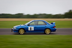 Subaru Impreza Type RA (torquayadam) Tags: blue castle canon jones dick racing mayo adrian ra sprint circuit impreza tpe 2014 combe 550d wrblue worldcars