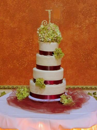 megan's wedding cake