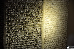 An Assyrian Prism (Sumer and Akkad!) Tags: iraq prism nineveh mesopotamia nimrud neoassyrian cuneiforminscription