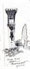family kos grave (sebastjancvelbar) Tags: white black art grave graveyard sketch tomb kos slovenia ljubljana vault croquis plecnik jozef plečnik janez žale jožef valentinčič