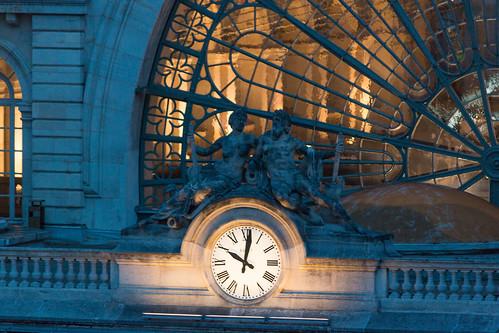 Horloge, Gare de l'Est
