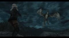 """The Elder Scrolls V: Skyrim"" (scolemanart) Tags: one pc fight mod dragon xbox 360 battle steam elf v armor elder modding playstation nord mods modded the scrolls ps3 ps4 skyrim whiterun dragonsreach hentaigale"