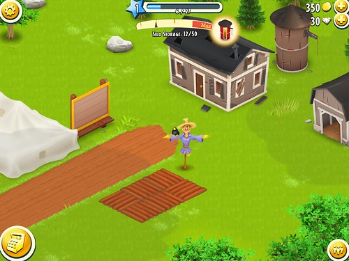 Hay Day Heads-Up Display: screenshots, UI