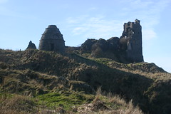 Dunure Castle and Dovecot