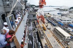 140808-N-YD641 (U.S. Pacific Fleet) Tags: gw carrier ussgeorgewashingtoncvn73 cvn73 ussgeorgewashington sasebojapan