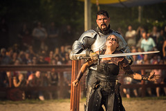 BRF 2014 Week 5 (SauceyJack) Tags: horse metal wisconsin bristol costume fight cosplay august entertainment fantasy armor acting sword actor faire perform fighting joust performer wi renaissance bristolrenaissancefaire act brf entertain pretend kenosha 2014 costumeplay lr5 lightroom5 canon1dx 7020028isiil sauceyjack
