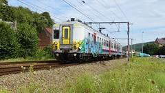 AM 664 - L125 - ANDENNE (philreg2011) Tags: train trein nmbs sncb andenne am664 l125 amclassique l5665 l5650