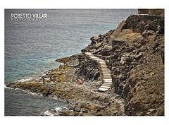 Barranco del Ququere (ROBERTO VILLAR l FOTOGRAFA) Tags: ocean espaa beach canon landscape spain lanzarote playa canary turismo islas oceano islascanarias puertodelcarmen robydemardel lanzarotephotogrfika