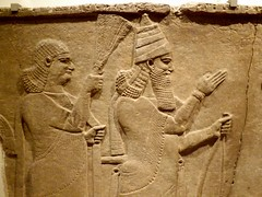 Detroit Institute of Arts: Detail, Assyrian Ruler Receiving Homage--Detroit MI (pinehurst19475) Tags: city urban michigan detroit palace dia relief ruler assyrian ancientart detroitinstituteofarts sculpturalrelief universityculturalcenter tiglathpileseriii culturarcenter palaceatnimrud
