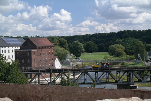 Blick vom Schloss Rochlitz