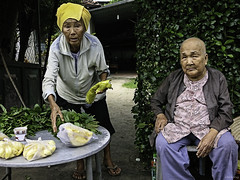 Daily life (-clicking-) Tags: life old friends portraits asia mood friendship faces emotion candid streetphotography streetportrait streetlife neighborhood vietnam elderly oldwoman dailylife oldage visage streetvendor oldtime eld elderlyportrait eldportrait