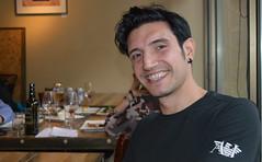 Fabrizio (#8 of 100 Strangers, Explored #339 8/30/14) (Luv Duck - Thanks for 15M Views!) Tags: smile fabrizio winebar italianman pleasantsmile 100strangersproject