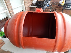 GOOD SIZE DOOR CUTOUT (coupe1942) Tags: compost compostbin composter diycompostbin