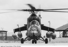 AH-2 SABRE (Força Aérea Brasileira - Página Oficial) Tags: bw pb helicoptero forçaaéreabrasileira brazilianairforce mi35 asasrotativas ah2sabre fotoeniltonkirchhof bantbaseaéreadenatal 131107eni4523ceniltonkirchhof