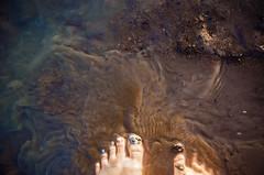 In the mud (Melissa Maples) Tags: summer woman lake selfportrait feet beach me water turkey hotel nikon asia mud trkiye melissa barefoot nikkor maples vr afs  18200mm  f3556g atapark  beyehir 18200mmf3556g d5100