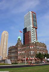 Rotterdam - Hotel New York (gerry.bates) Tags: building netherlands architecture port design rotterdam harbour structure kopvanzuid hotelnewyork newyorkhotel hollandamerikakade hollandamericalijn hollandamericaquay