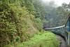 Goa Express passing through the tunnel! (dakshsharma) Tags: train goa waterfalls karnataka railways castlerock indianrailways indiantrains dudhsagarwaterfalls goaexpress