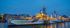 "HMS Belfast • <a style=""font-size:0.8em;"" href=""http://www.flickr.com/photos/53908815@N02/14973208750/"" target=""_blank"">View on Flickr</a>"