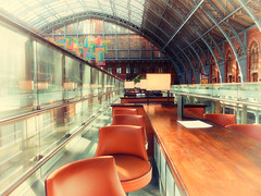 Bar stools (BarleycornTed) Tags: london breakfast bar barstools stools searcys stpancrasstationstpancrasinternational