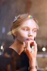Sneak Peeks- Spring-Summer 2015 Yigal Azrouel 001 (rachel.photo) Tags: beauty hair makeup glam backstage behindthescenes fashionweek ss15 nyfw backstagebeauty rachelscroggins thegreyestghost spring2015