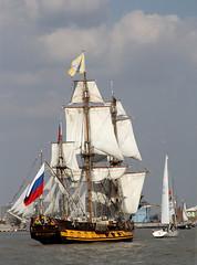 Shtandart (Russia) (donbyatt) Tags: london thames boats sailing ships greenwich regatta tallships tallshipsfestival2014