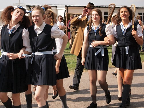 Have thought St trinian s school uniform that