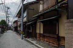 Shimabara, Kyoto /  (Kaoru Honda) Tags: city summer nature japan bar landscape japanese restaurant town alley nikon kyoto traditional alleyway tavern    shinsengumi         shimabara     sumiya        d7000