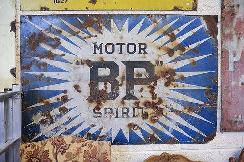 Motor BP Spirit Sign € 250