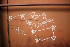 Big Dipper (No Real Name Given.) Tags: train graffiti big streak folklore oil stick boxcar freight dipper moniker benching