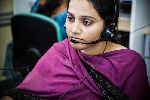 AgroMet call center, Andhra Pradesh