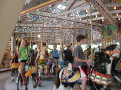 Carousel of Life (SandraNestle) Tags: usa children joy carousel pa amusements 1900s knoebels smalltowns sandranestle