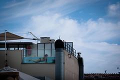 Aquarium (Anders Tempelman) Tags: woman rooftop pool