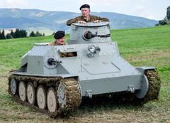 Praga AH-IV-R tankette (The Adventurous Eye) Tags: military praga presentation 2014 cihelna prezentace tankette ukzka vojensk ahiv ahivr