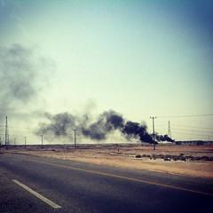 #Desert #Fires #SaudiArabia