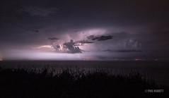Electrical Storm (Jersey War Tours) Tags: storm lightpainting islands gun jersey lightning electrical channel batterie electricalstorm leslandes canon70d batteriemoltke tracesofwarjersey marinepeilstand2