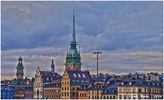SUECIA  Estocolmo.   C.M. (Cesalf) Tags: estocolmo nwn paisajeurbano