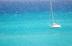 A Sailing Boat on the the sea (Hannes Knpling Photography) Tags: ocean sea boat sailing turquoise fuerteventura atlantic sail canary atlanticocean sailingboat canaryisles
