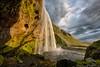Seljalandsfoss (Kristinn R.) Tags: sky grass clouds waterfall iceland nikon nikkor seljalandsfoss d3x nikonphotography kristinnr