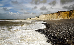 seven sisters at Birling gap (c.richard) Tags: sea sussex coast seaside coastal seashore sevensisters coastchalk