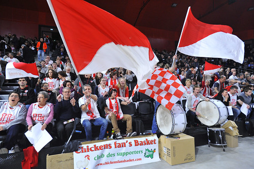 Supporters JL Bourg - ©JLBourgBasket