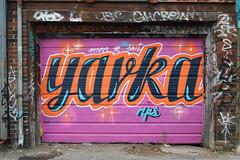 DSC_0088 v2 (collations) Tags: toronto ontario architecture graffiti nps documentary vernacular laneways alleys lanes garages alleyways builtenvironment vernaculararchitecture urbanfabric yarka