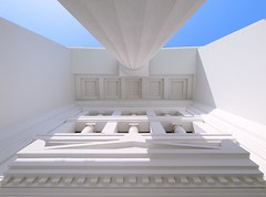(Union*) Tags: white cemetery architecture perspective slovenia ljubljana column plenik classicist joe ale