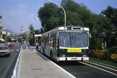 JHM-1980-1411 - France, Nice, autobus Berliet PR100 (jhm0284) Tags: france nice 06nice niceam alpesmaritimes