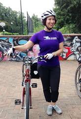WABA 50 States 13 Colonies 2014 Abigail (Mr.TinDC) Tags: friends people cyclists washingtondc dc abby biking abigail waba 50statesride waba50statesride 13coloniesride