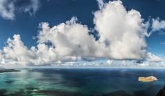 A typical day at Waimanao Bay (tiger_tim_2000) Tags: panorama weather clouds photography afternoon oahu bellows windward mokuluaislands waimanalobay timeperiod mananarabbitisland kamehameridge waileapt mcbhk