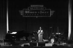 Lena Seikaly - Bethesda Blues and Jazz Supper Club (DMD67) Tags: monochrome dinner concert nikon performance 85mm jazz vocalist bethesda d7100 lenaseikaly nikkorafs85mm18g bethesdabluesandjazzsupperclub
