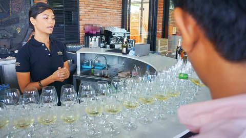 Hua Hin Hills Wine Tasting 7
